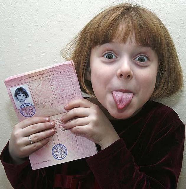 Как вписать ребенка в загранпаспорт? [Архив] - …