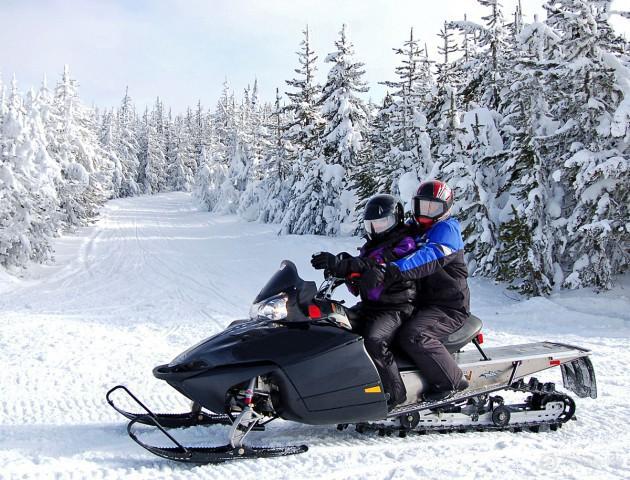 Где покататься на снегоходах в Минске?